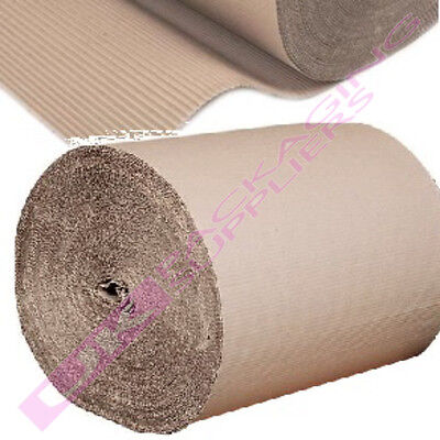 450mm HIGH CARDBOARD CORRUGATED WRAPPING PAPER ROLLS CHEAP *SELECT LENGTH + QTY*