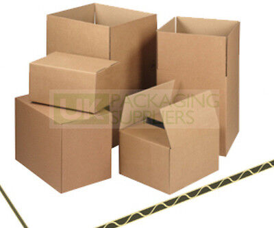 "Postal Packing Cardboard Boxes Size 8x6x6"" Packaging Cartons CHOOSE YOUR QTY"