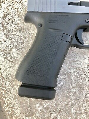 GLOCK 43 MAGAZINE with HYVE TECHNOLOGIES +2 GHOST Black