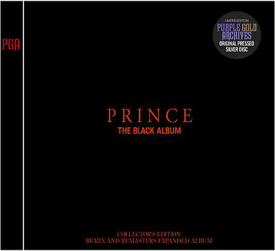 PRINCE The Black Album Remix and Remasters COLLECTORS EDITION 2CD