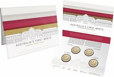 2016 Australia's First Mints Four Coin Mintmark and Privy Mark Set RAMint