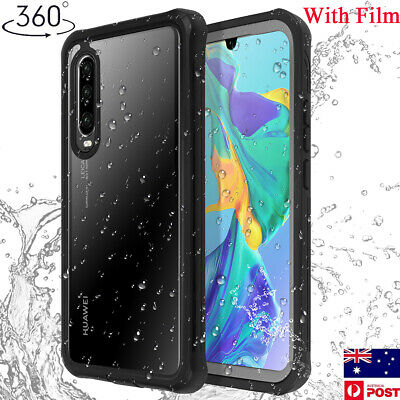 For Huawei P30 Pro P20 Clear 360° Bumper Shockproof Full Body Case Cover 3 in 1