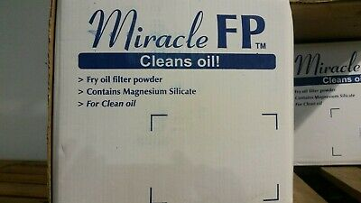 Miracle FP Fry Oil Filter Powder 18kg - Free Shipping