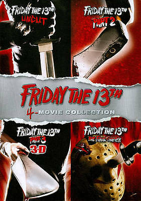 Friday the 13th: 4-Movie Collection (DVD) Bilingual EN/FR Qc