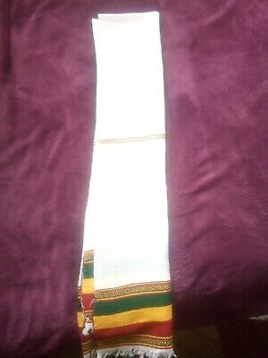 Rastafarian Ethiopian Scarfs, hand made out of pure cotton