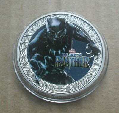 Black Panther Marvel Super Heroes / Souvenir Coin/Medal Birthday Gift