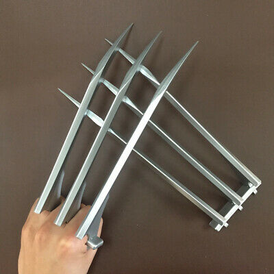 2 PCs/1 pair ABS X-men Wolverine Claws Logan Paws 1:1 Cosplay Prop Party Gift US