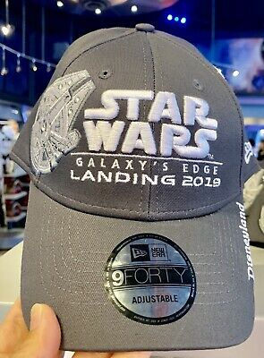 Disneyland Star Wars Galaxy's Edge Millennium Falcon Opening Day Cap Hat w/ Map