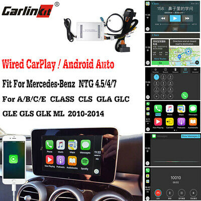 Carlinkit Fit For Benz NTG 4.5 /4.7 A pple CarPlay Android Auto Box Retrofit Kit