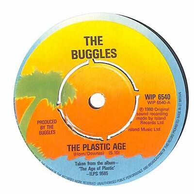 "The Buggles - The Plastic Age - 7"" Record Single"