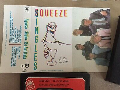 Squeeze 45's and Under Singles Cassette