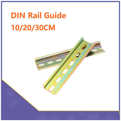 35mm Width Slotted DIN Rail Long 8cm 20cm 30cm Thickness 1mm Terminal Blocks