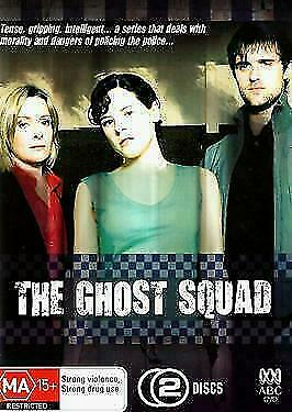 The Ghost Squad (DVD, 2-Disc Set) REGION-4- LIKE NEW-FREE POST WITHIN AUSTRALIA