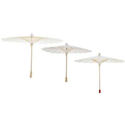 3 Sizes Chinese Hand-made Mini Umbrella Paper Parasol for 1/3 BJD Dolls