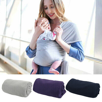 Kid Baby Sling Stretchy Cover Wrap Infant Carrier Breastfeeding Newborn Birth