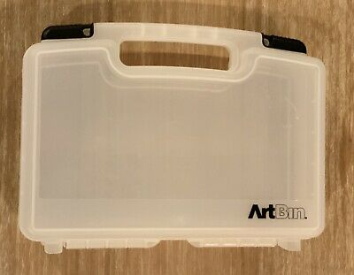 "Art Bin ArtBin Quik-View Art Craft Carrying Case 14"" Across"