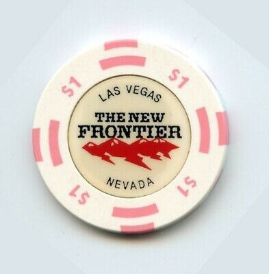 1.00 Chip from the New Frontier Casino Las Vegas Nevada