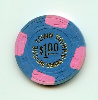 1.00 Chip from the Town Tavern Casino in Las Vegas Nevada