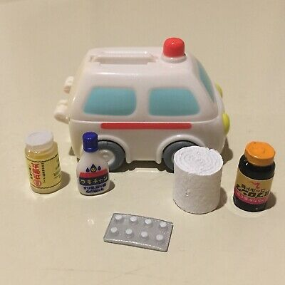 Dollhouse Miniature 1:12 Scale Doctor First Aid Medicine Medical Bottles Rement