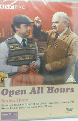 Open All Hours - Complete Series 3 (DVD) NEW Sealed ☆ FREE FAST POST