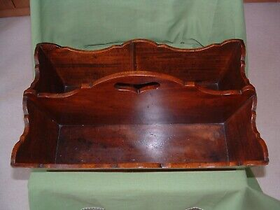 Georgian . mahogany cutlery tray  of exceptional quality