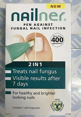 Nailner Pen 2 in 1 4ml Anti Fungal Toe Nail Fungus Infection Treatment *New*