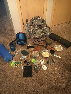 Ultralight Bug Out Bag Emergency Bag Hiking Camping Get Home Gear