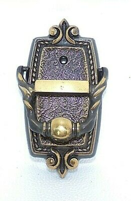 Vintage New Amerock Door Knocker/Viewer Regency Bronze Bonaventure Collection