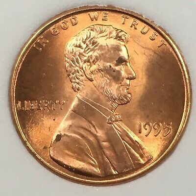 1995 Ddo Uncirculated Lincoln Memorial Cent - Doubled Die Obverse - Ncgs Holder