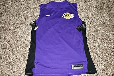 pretty nice 03b01 4fdb8 NEW WITH TAGS Nike Los Angeles Lakers Size 4XL Purple Men's ...