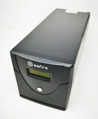 Safire UPS 1000VA LCD USV Tower 600W Notstrom Power Backup