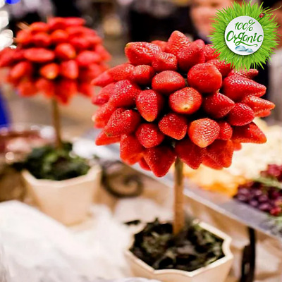 200Pcs. Strawberry Tree Seeds Rare Fruit Bonsai Seed Garden Home Plants