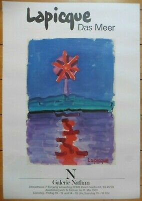 Charles Lapicque affiche poster lithograph