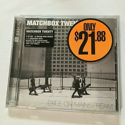 Matchbox Twenty - Exile On Mainstream+ Greatest Hits - Cd 2 Discs - Vgc