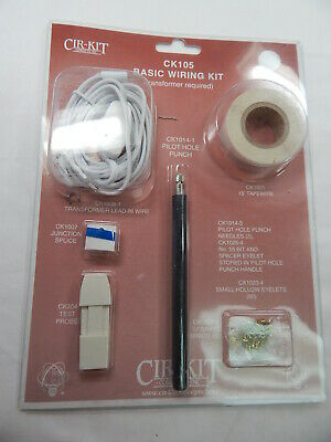 Dollhouse Electrical Large Wiring Kit For A 1012 Room Dollhouse