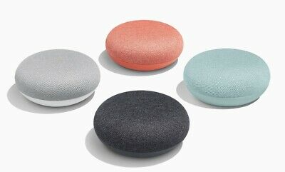 Brand New Google Home Mini Smart Speaker with Google Assistant - All Colors