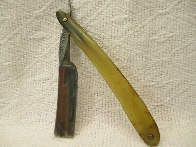 Antique Frederick Reynolds Straight Razor Wide 20 Mm