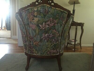Antique Victorian Wing Chair