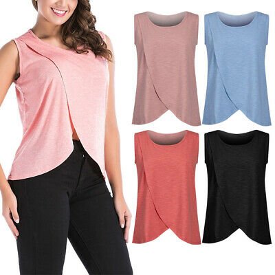 Hot Women Pregnant Maternity Clothes Nursing Tops Breastfeeding T-Shirt Blouse