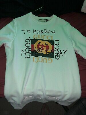 b97878459 ... White Logo T Shirt Size Medium Rare Sold Out Ghost New. $1,024.89 Buy  It Now or Best Offer 4d 8h. See Details. Gucci Coco Capitan Tomorrow Is  Mystery ...