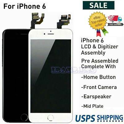 For iPhone 6 A1549A1586A1589 LCD Digitizer+Touch Screen Assembly Replacement lot