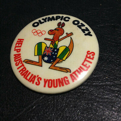Olympic Ozzy Help Australia's Young Athletes Vintage