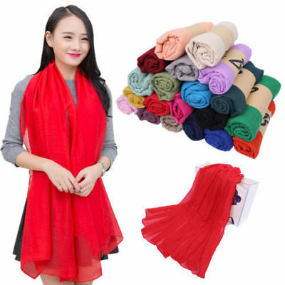 New women's long candy colors soft cotton Scarf Wrap Shawl scarves fashion stole