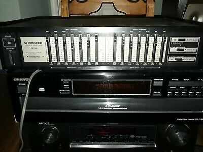 Pioneer GR-560 7 Band Graphic Equalizer (tested)