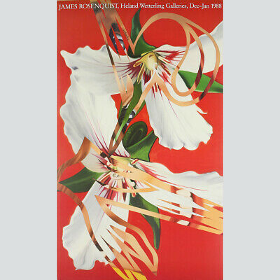 James Rosenquist - Heland Wetterling Galleries 1988