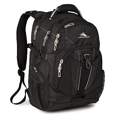 High Sierra XBT 58000 17 Inch Laptop Backpack Black