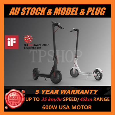 2019 New M365 Model AU Plug 8.5inch 500W Electric Scooter Portable Foldable Bike