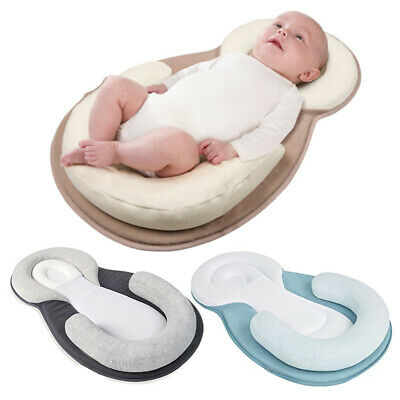 Baby Pillow Sleep Cushion Pad Newborn Crib Anti Roll Nest Bed Mattress