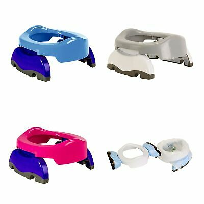Potette Plus Baby / Toddler 2-In-1 Travel Potty / Toilet Trainer Seat & 3 Liners