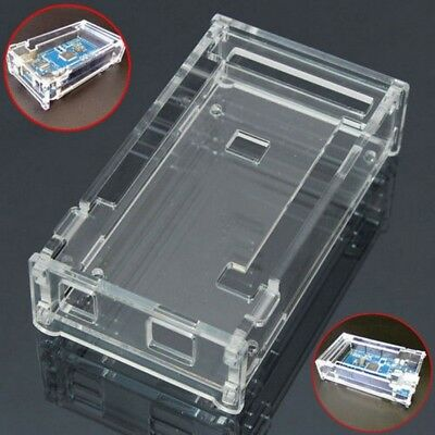 Acrylic Box Enclosure Transparent Case For Arduino MEGA2560 R3 Just Case NR7